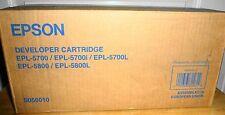NEW GENUINE Epson EPL-5700 EPL-5700L EPL-5700i EPL-5800 EPL-5800L Toner S050010