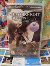 Sony PSP:White Knight Chronicles - Origins [TOP RPG] NEUF & BLISTER - Fr