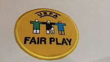 UEFA EUROPE FEDERATION FAIR PLAY PATCH ROUND 8 CM