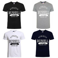 Russell Athletic Genuine Goods Short Sleeve Crew Neck Mens T-Shirt FW16PON005 WH