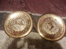 2 Vintage Egyptian Plate Wall Mount