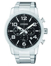 Citizen AN8050-51E Mens Chronograph Watch WR50m NEW RRP $350.00