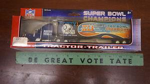 Colts Super Bowl Champs Tractor Trailer XLI Peterbilt Upper Deck 1:80 NIB semi