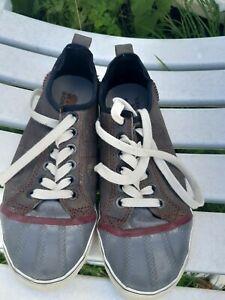 Sorel Canvas Rubber Shoes Size 7.5 US