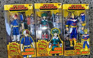 ❤️ Mega Merge: My Hero Academia - All Might, Izuku, & Shoto Action Figure