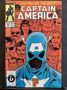 Captain America #333 (Vol. 1) NM- (9.2) 1st John Walker as Captain America Sharp
