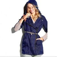 Cabi Size M Medium Adventure Anorak Jacket Style 5100 Blue Cotton Womens