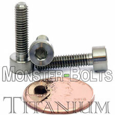 4mm x 0.70 x 16mm - TITANIUM SOCKET HEAD CAP Screw - DIN 912 Grade 5 Ti M4 Hex