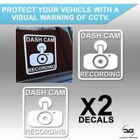 Dash Cam Recording Car Security Window Bumper Vinyl Decal Sticker CCTV Car Van