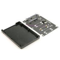"""Mini PCIe PCI-e mSATA SSD to 2.5"""" SATA3 Converter Adapter SSD Case Enclosure 7mm"""