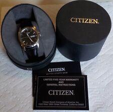 2016 Citizen Men's Quartz Watch EXCELLENT w/Box & Paperwork New Battery 1102