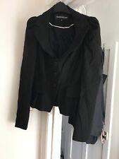 Warehouse Size 10 Black Spot Suit Jacket (B1)