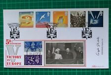 More details for 1995 benham first day cover ve day signed by captain gaje ghale vc