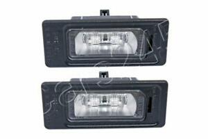 AUDI A1 A3 A4 A5 A6 A7 Q3 Q5 TT 2010- LED License Plate Lights x2 pcs GENUINE