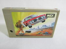 MSX CAR JAMBOREE Bakuso Stunt Racing Cartridge only Import Japan Video Game msx