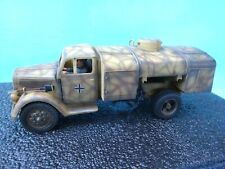 Figarti 54mm ww2 German Tri-Camo Opel fuel truck 1fig 2007 ETG-066 MIB OOP