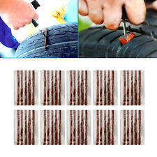 10X Car Auto SUV Tyre Tubeless Seal Strip Plug Tire Puncture Repair Recovery