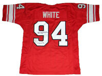 RANDY WHITE SIGNED AUTOGRAPHED MARYLAND TERPS TERRAPINS #94 THROWBACK JERSEY JSA