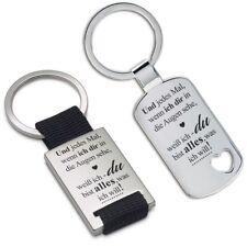 """Lieblingsmensch® Schlüsselanhänger: """"Wenn ich dir in die Augen sehe"""""""