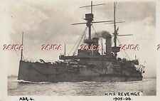 "Royal Navy Real Photo. HMS ""Revenge"" Battleship. Redoubtable. Accommodation 1905"