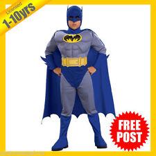 Polyester Batman Dress Costumes for Boys