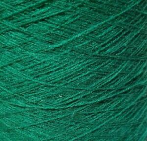 Vintage Burnleys (Bright) 2/30  Green Machine Knitting Wool/Yarn Cones