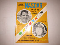 1969 NASCAR MAGAZINE AND RACING PROGRAM - NICE - TUB BN-9