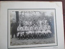 VINTAGE 1920s  PHOTOGRAPH UNKNOWN FOOTBALL TEAM;' LEEDS (TILLOTSON) PHOTOGRAPHER