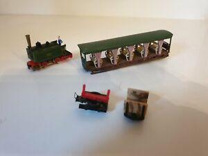 Locomotive train électrique Hoe Jouef Decauville + wagons