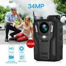 BOBLOV 1296P Body Mounted Camera Video Recorder Night Vision for Law Enforcement