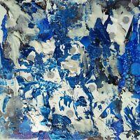 Original Abstract Modern Fine Art Painting Acrylic Mixed Media Signed Artwork