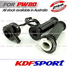 KDF PW80 PY80 COYOTE 80 GRIPS  PEEWEE PW LH RH TUBE THROTTLE HOUSING FOR YAMAHA