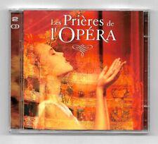 COFFRET 2 CD / LES PRIERES DE L'OPERA / COMPILATION ANNEE 1992 EMI