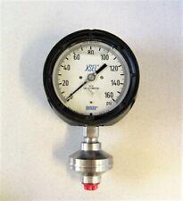 "WIKA 990.34 Welded Diaphragm 0-160 PSI Gauge 4 1/4"" Face Liquid Filled"