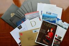 CUNARD LINE QUEEN MARY 2 QM2 175 TRANSATLANTIC CROSSING COLLECTION 19X ITEMS
