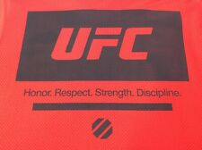 Reebok Ufc Hrsd Honor Strength Red Mens Large Long Sleeve Athletic Shirt Nwot