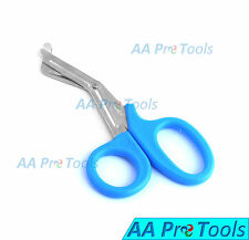 "AA Pro: Utility Scissors 5.5"" Sky Blue Color Emt Medical Paramedic Nurse Scissor"