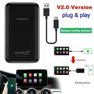 Carlinkit 2.0 OEM IOS Wired CarPlay Upgrade to Wireless CarPlay Activator Dongle
