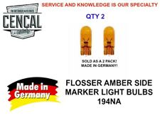 AMBER SIDE MARKER LIGHT BULB 194NA  BP194NA  2827 N01775311 N0177534   429101