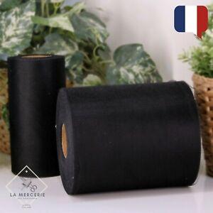 Rouleau de Tulle Noir 15cmx90m qualité supérieure polyester tutu Mariage