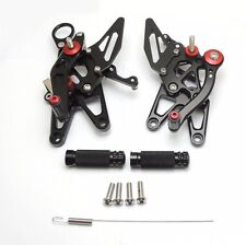 2010-2014 BMW S1000RR/2014-2016 S1000R BLACK Hotbodies MGP Adjustable Rear Sets