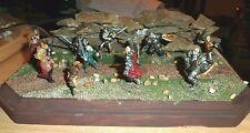 """Dungeons & Dragons PATHFINDER FANTASY 25mm diorama 9"""" X 7"""" UNDEAD RAMPAGE"""