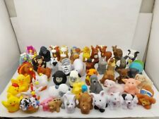 random 12x Fisher Price Little People Zoo Farm Park Animals Pets Figure Baby Toy