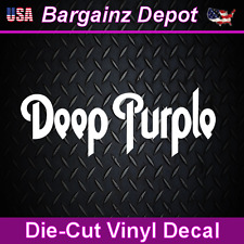 Vinyl Decal ... DEEP PURPLE ... Band Car Laptop Sticker Vinyl Decal