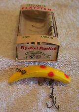 HELIN FLATFISH LURE  05/14/18pots  BOX + PAPER F7 YR COLLECTOR GRADE