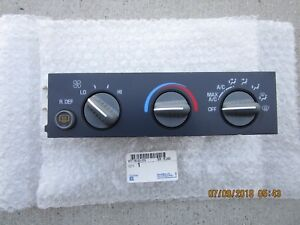 96 - 00 CHEVY EXPRESS 1500 2500 3500 A/C HEATER CLIMATE TEMPERATURE CONTROL NEW