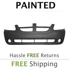 NEW Fits: 2001 2002 2003 2004 Dodge Caravan w/Fog Front Bumper Painted CH1000328
