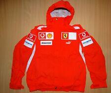 * FERRARI Scuderia F1 RACING Puma RAIN CREW JACKET trikot jersey maglia Formula