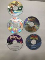 RollerCoaster Tycoon (PC, 1999) Lot Of 1, 2, 3 And an Extra Mall Tycoon Deluxe