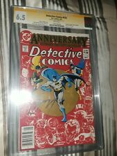 Signed Detective Comics 526 CGC SS 6.5 Jerry Conway - Death Jason Todd's parent